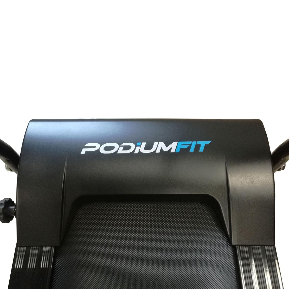 Esteira Elétrica Podiumfit X100 110v / 12progs / Dobravel / Silenciosa