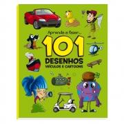 101 Desenhos: Veículos e Cartoons