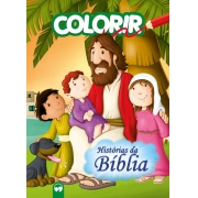 Explosão de cores - Histórias da Bíblia