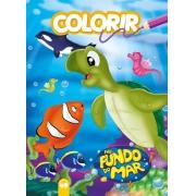 Explosão de cores - No Fundo do Mar