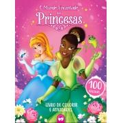 O Mundo Encantado das Princesas - 100 Páginas