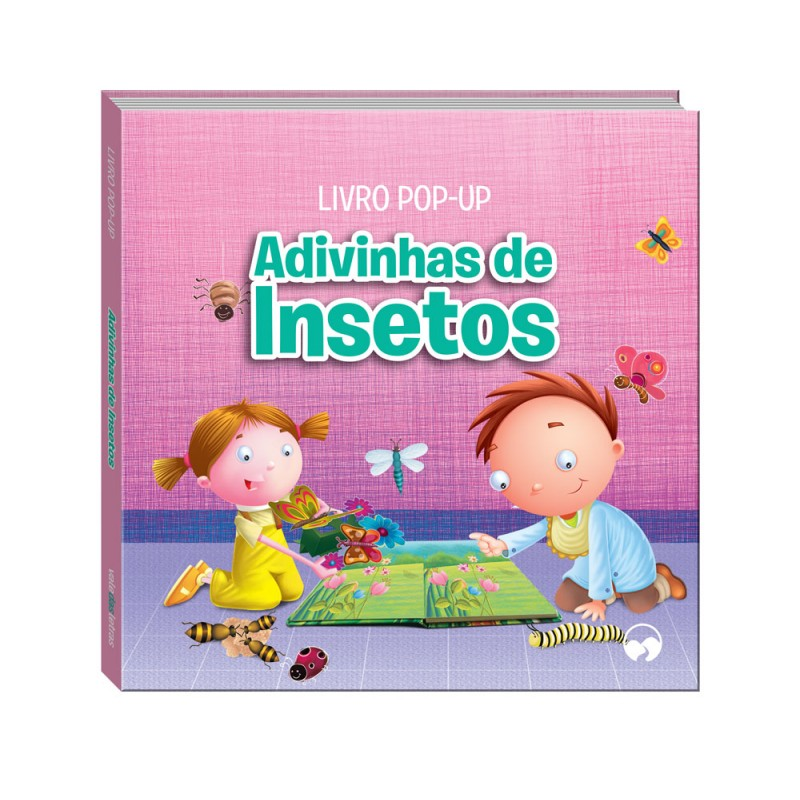 Adivinhas de Insetos -  Pop-Up Rimas