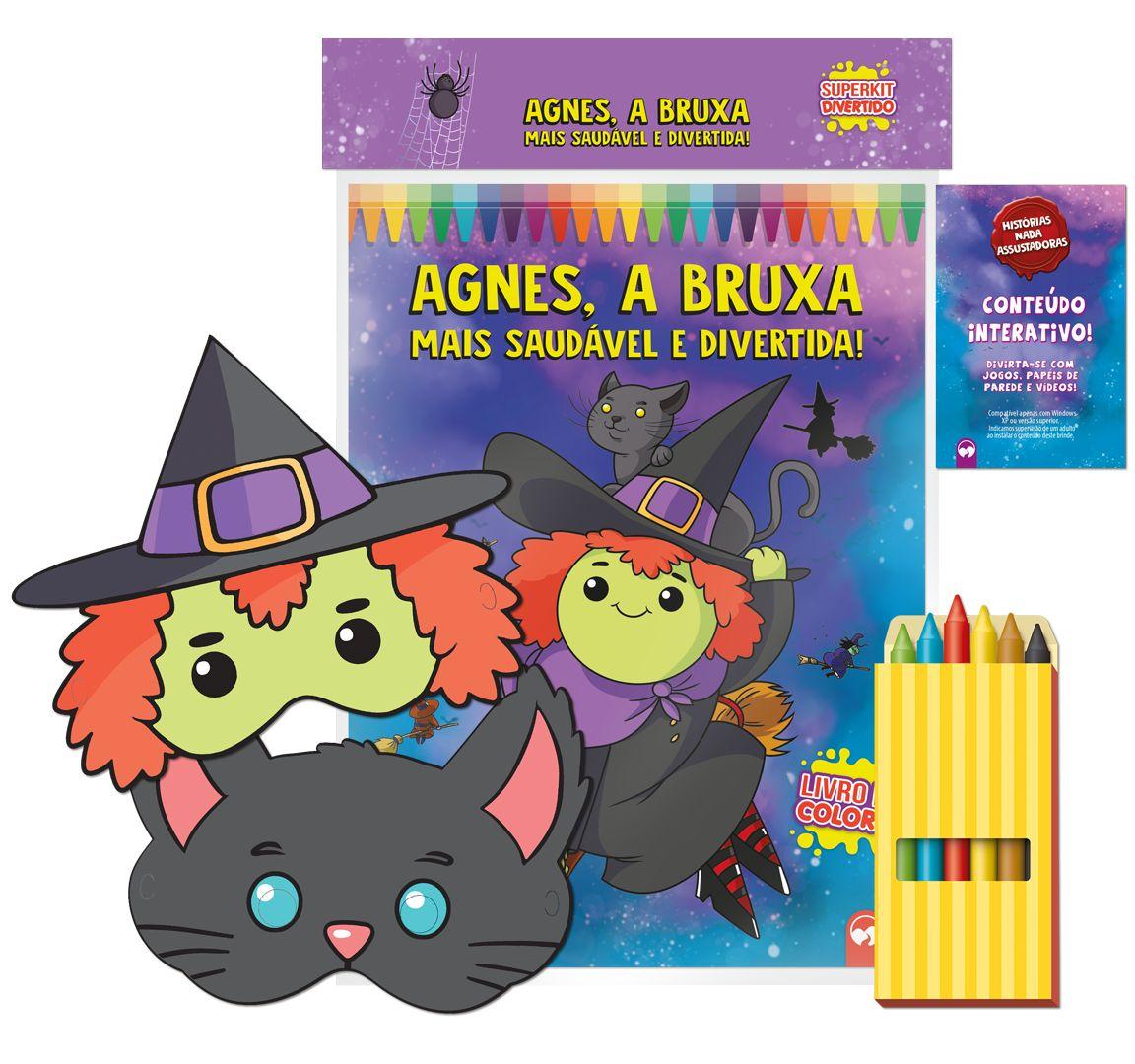 Agnes, a Bruxa mais Saudável e Divertida! - Superkit Divertido