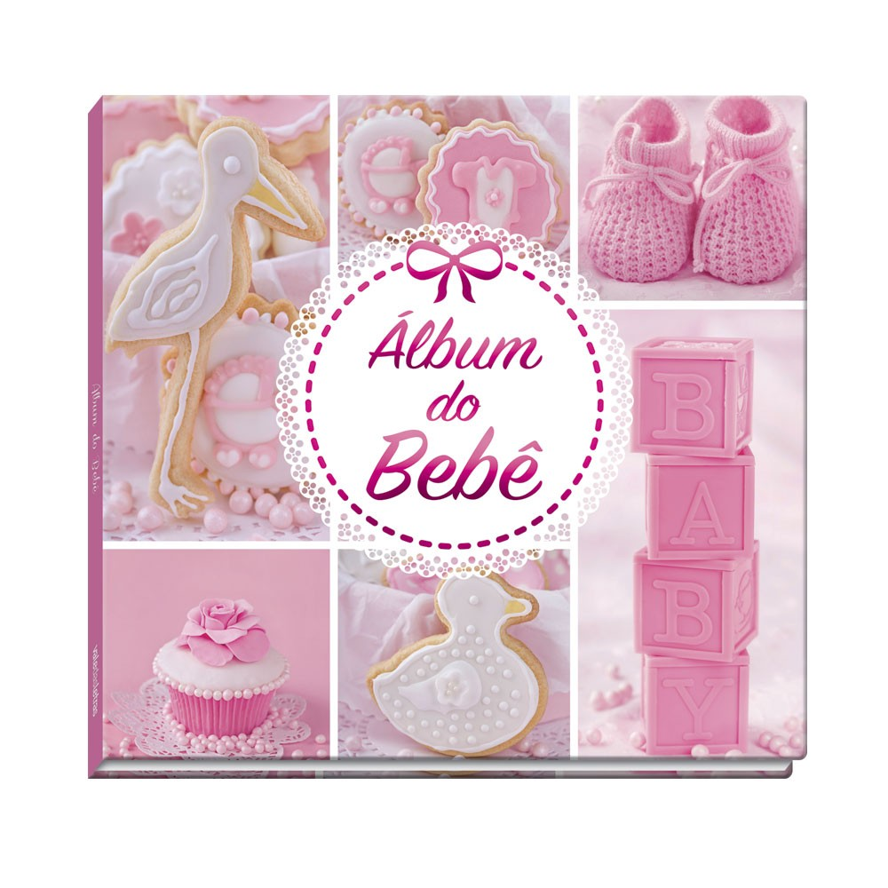 Álbum do Bebê - Rosa