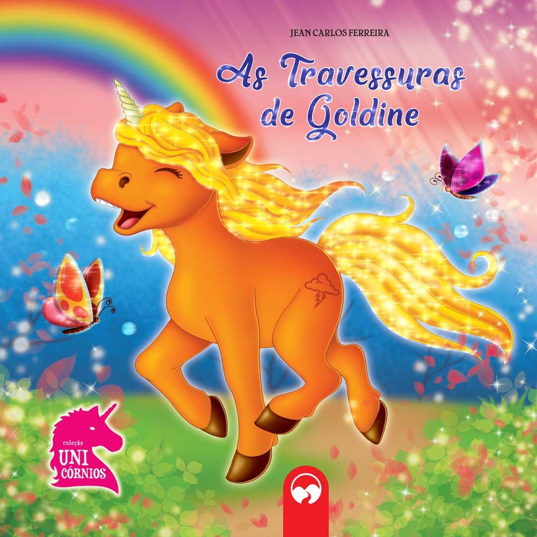 As Travessuras de Goldine - Literatura Encantada