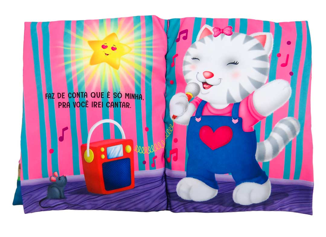Brilha Brilha Estrelinha - Meu Livro Travesseiro