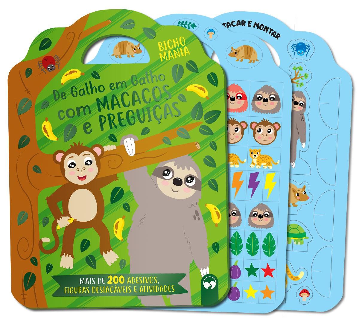 De Galho em Galho com Macacos e Preguiças - Bicho Mania