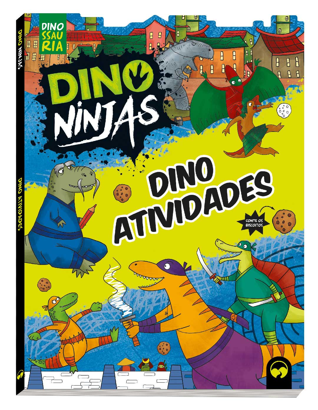 Dino Atividades Ninjas - Azul