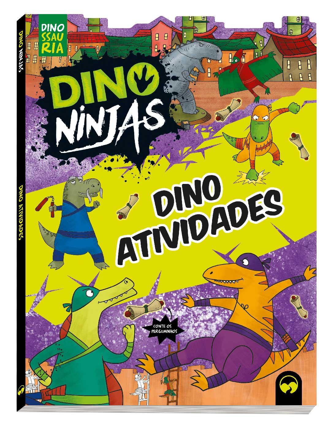 Dino Atividades Ninjas - Roxo
