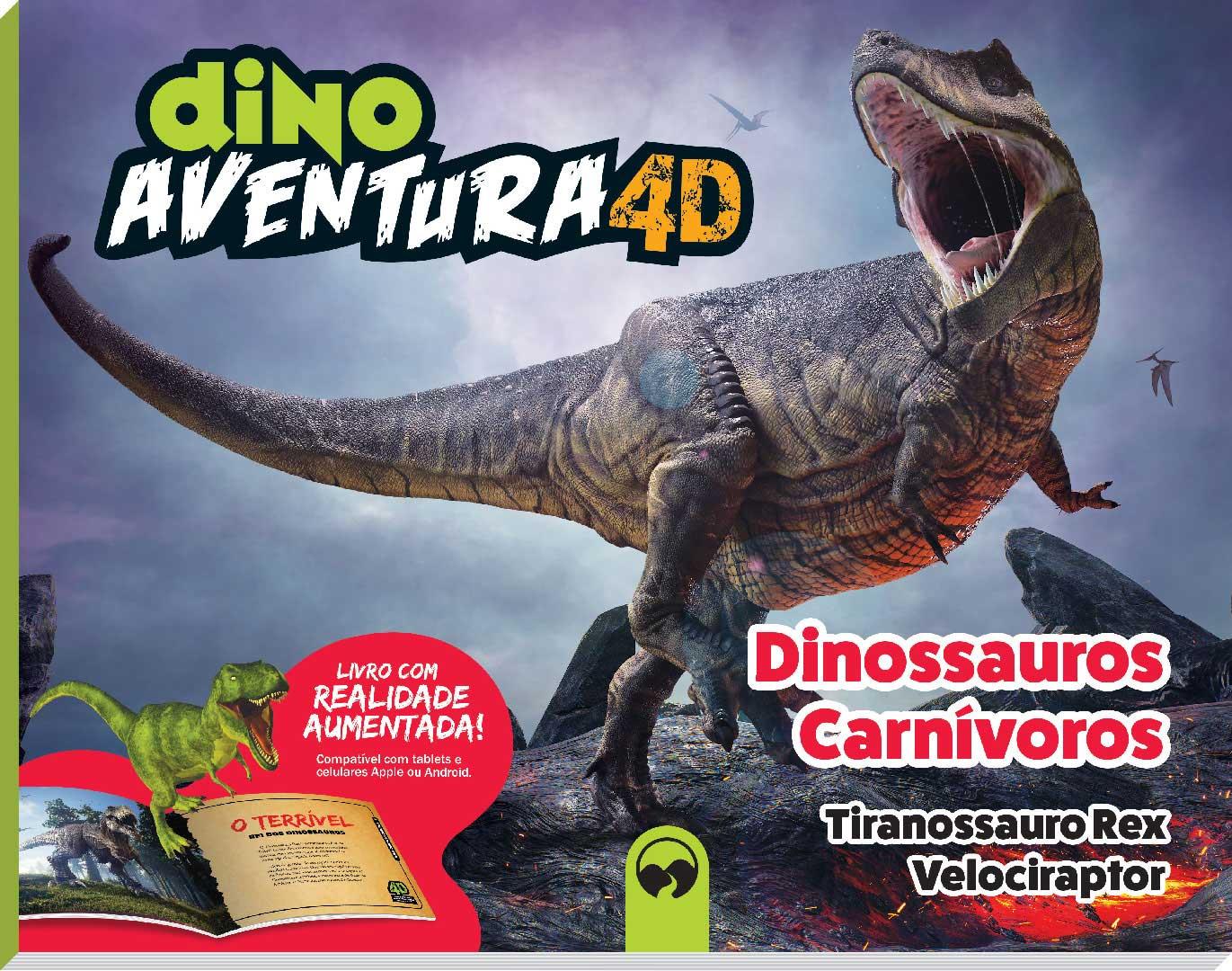 Dino Aventura 4D - Carnívoros