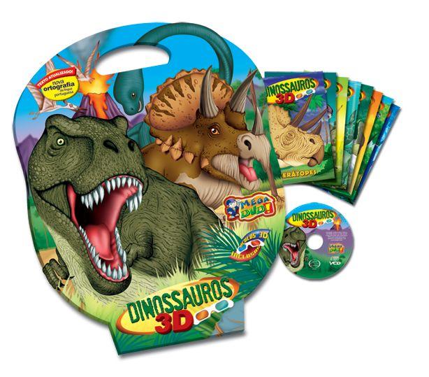 Dinossauros - Maleta