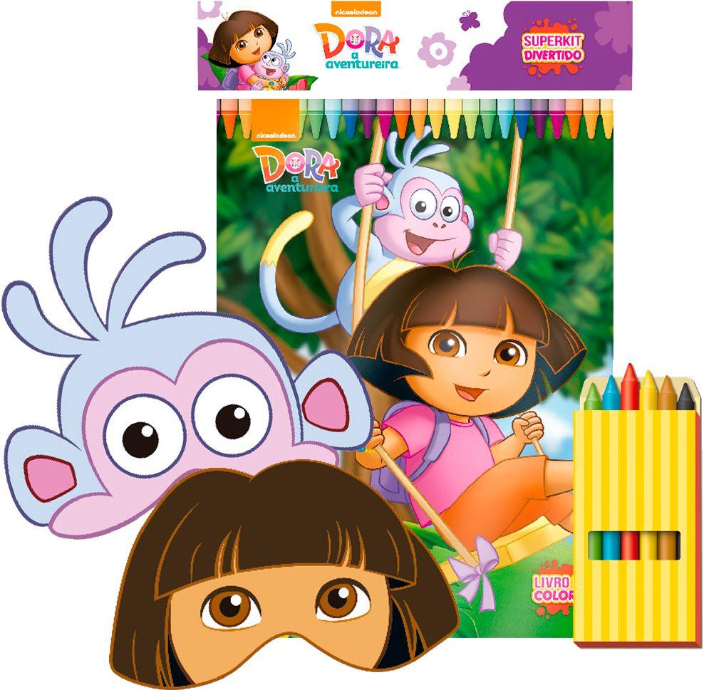 Dora, Aventureira - Superkit Divertido