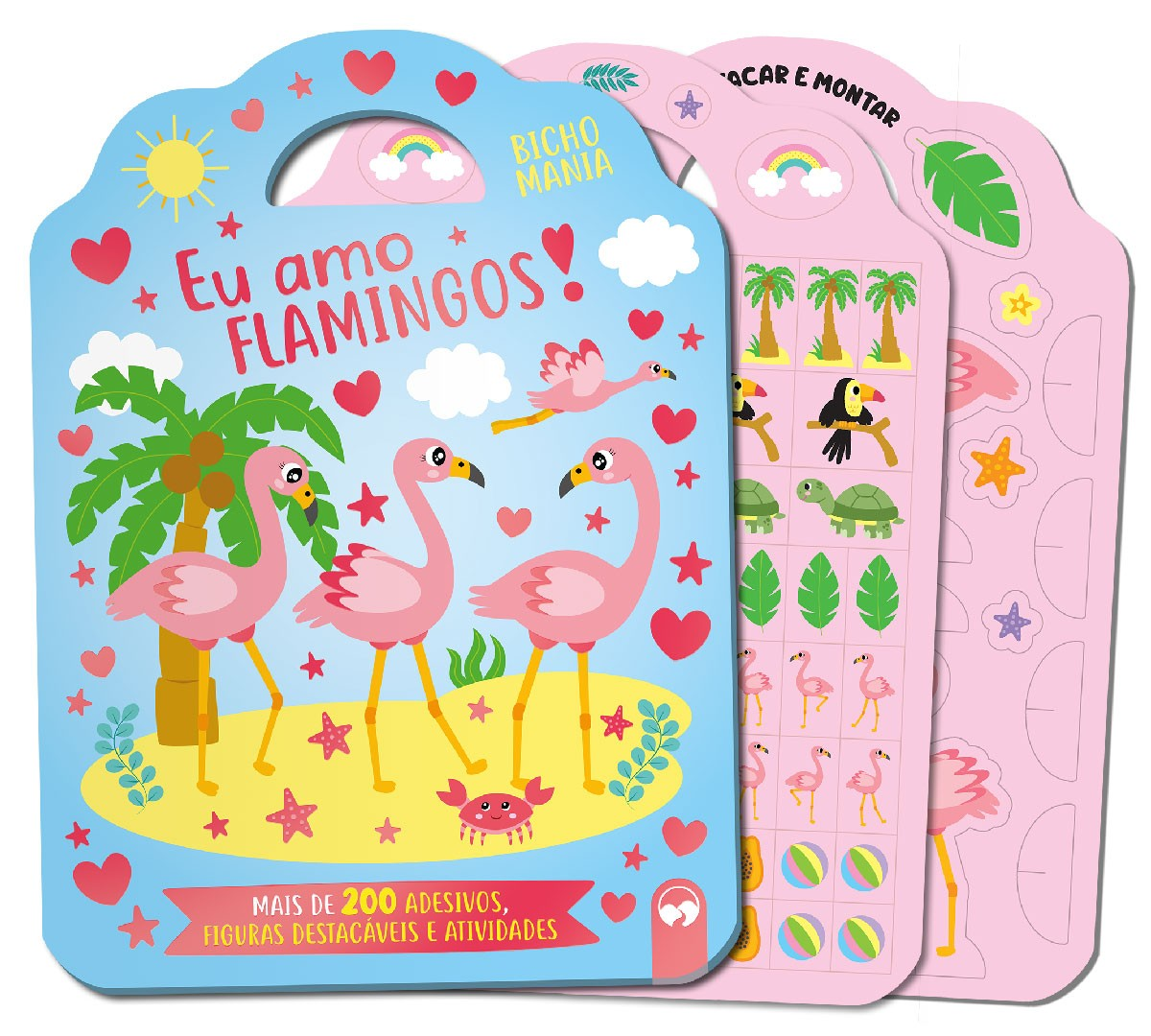 Eu amo Flamingos - Bicho Mania