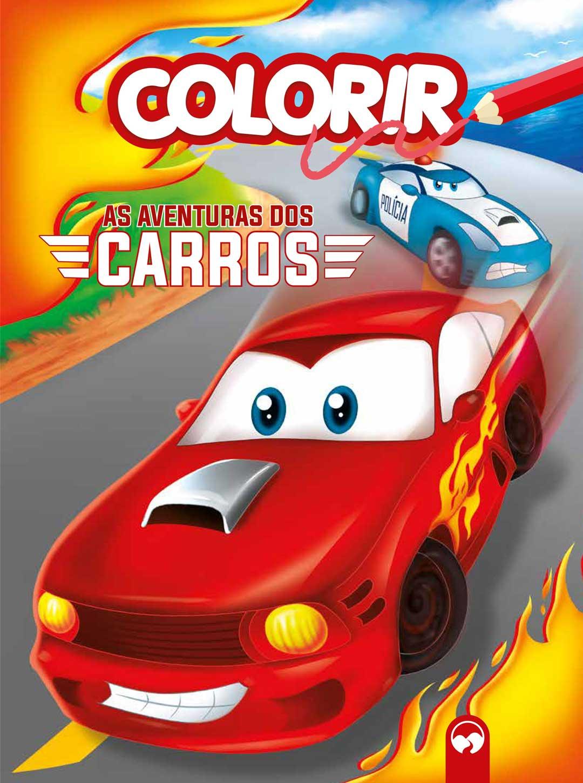 Explosão de cores - As Aventuras dos Carros