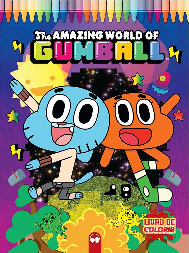Explosão de Cores - Incrível Mundo de Gumball