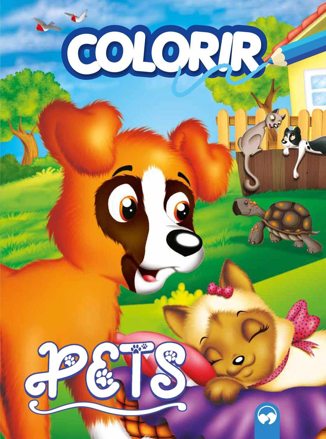 Explosão de cores - Pets