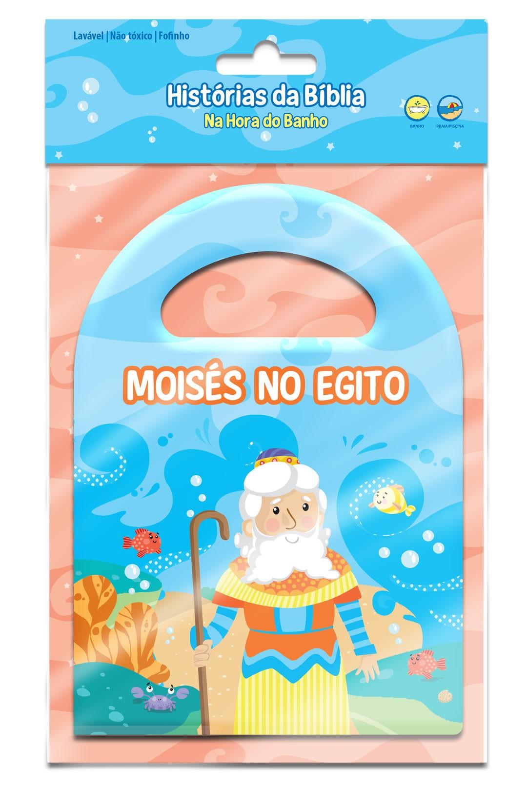 Moisés no Egito - Hora do Banho Bíblico