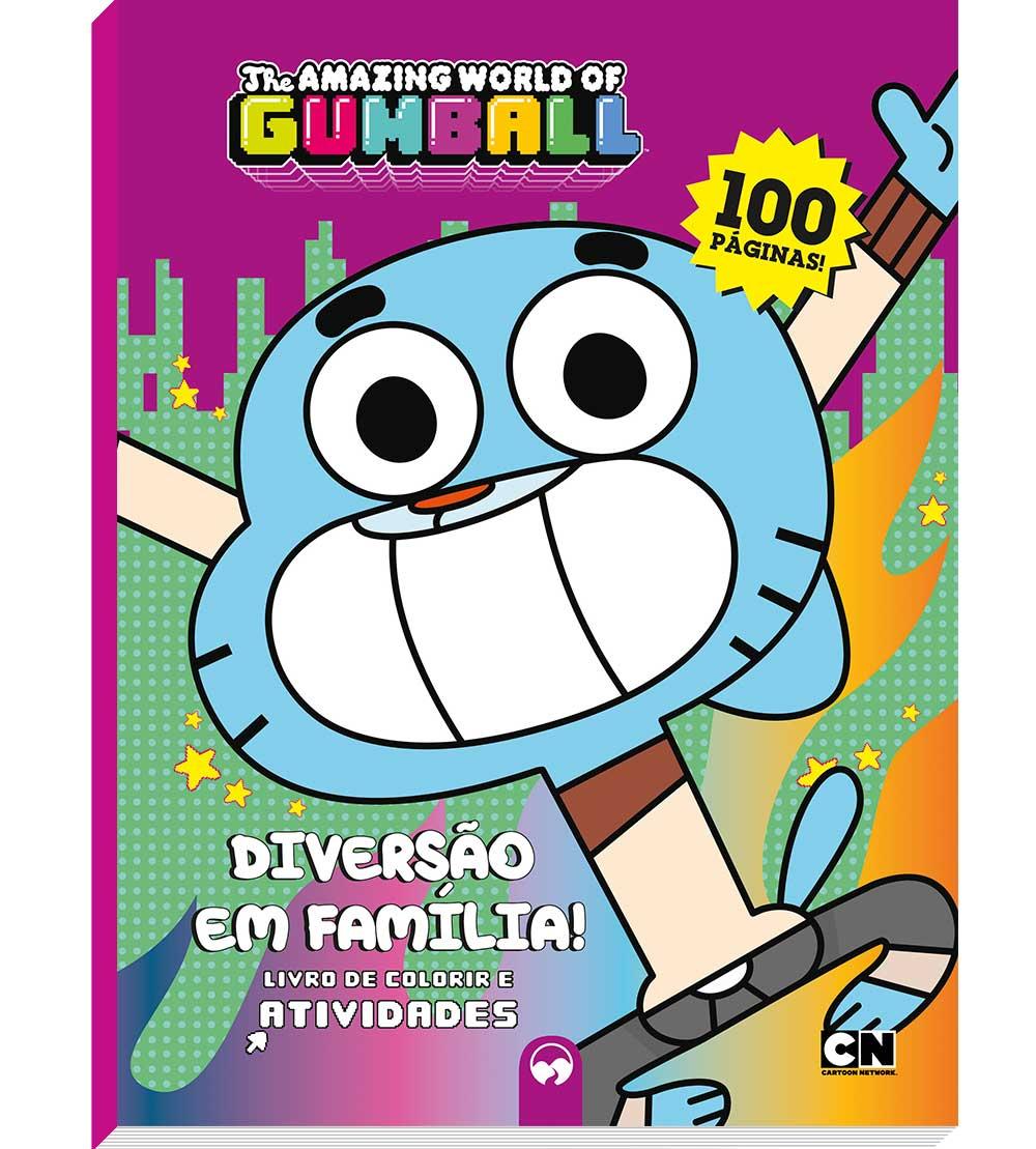 O incrível mundo de Gumball: diversão em família! - 100 Páginas
