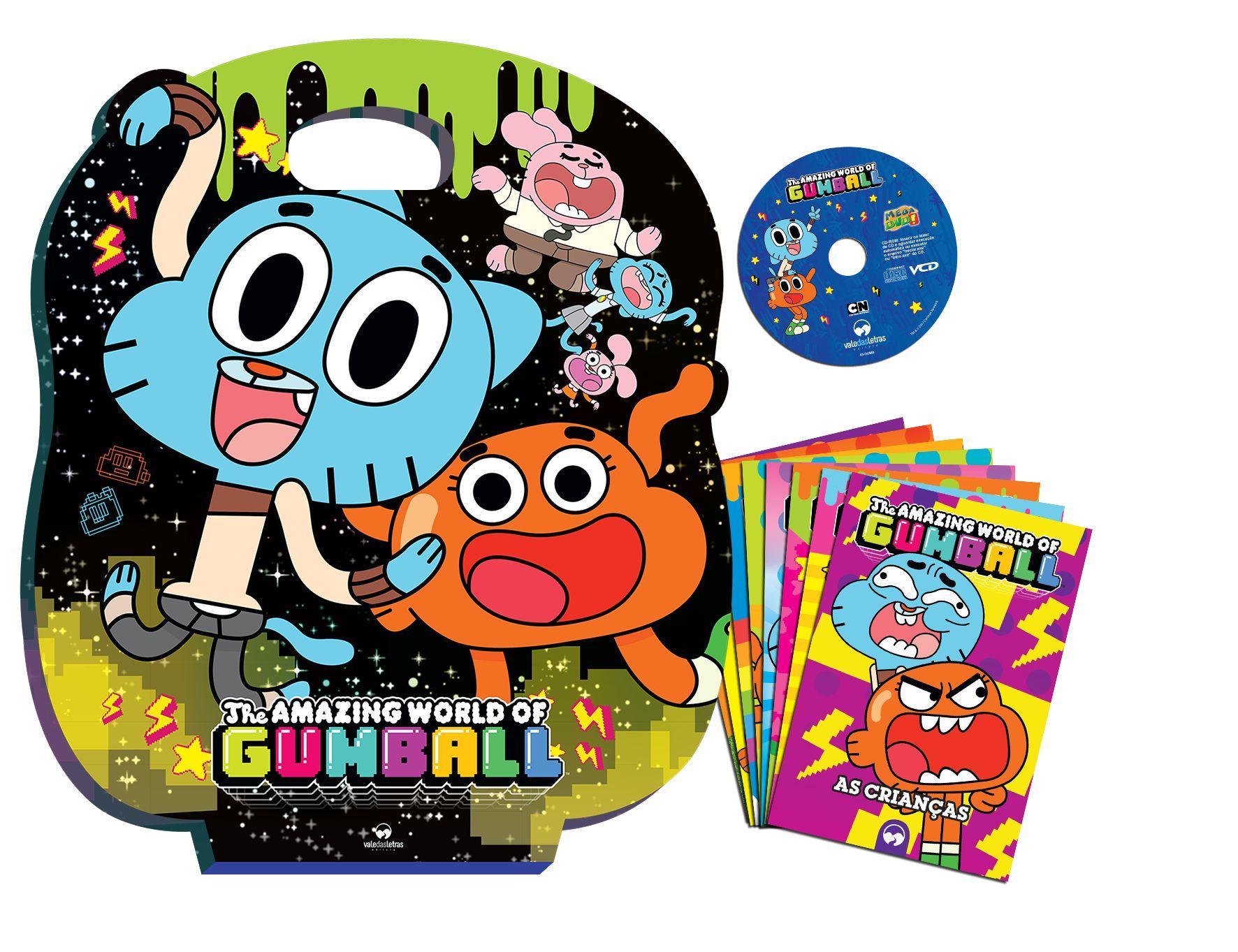 O Incrível Mundo de Gumball - Maleta