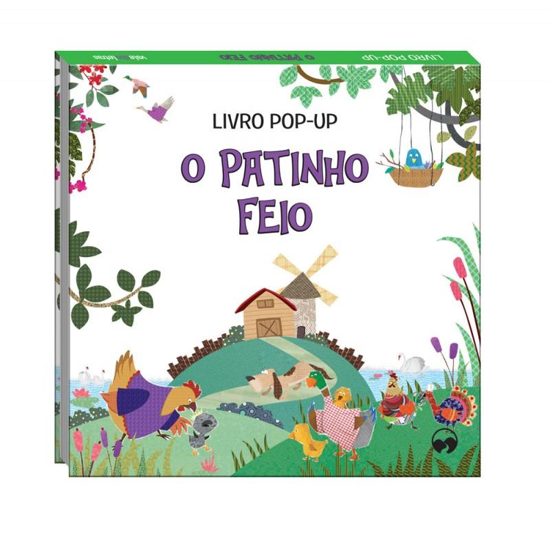 O Patinho Feio - Pop-Up Fábulas