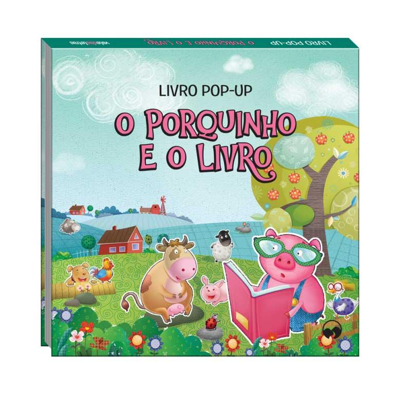 O Porquinho e o Livro - Pop-Up Fábulas