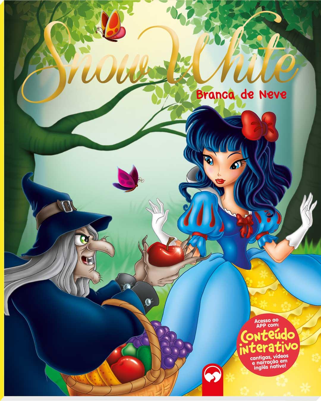 Snow White (Branca de Neve) - Meu Primeiro Livro Bilíngue