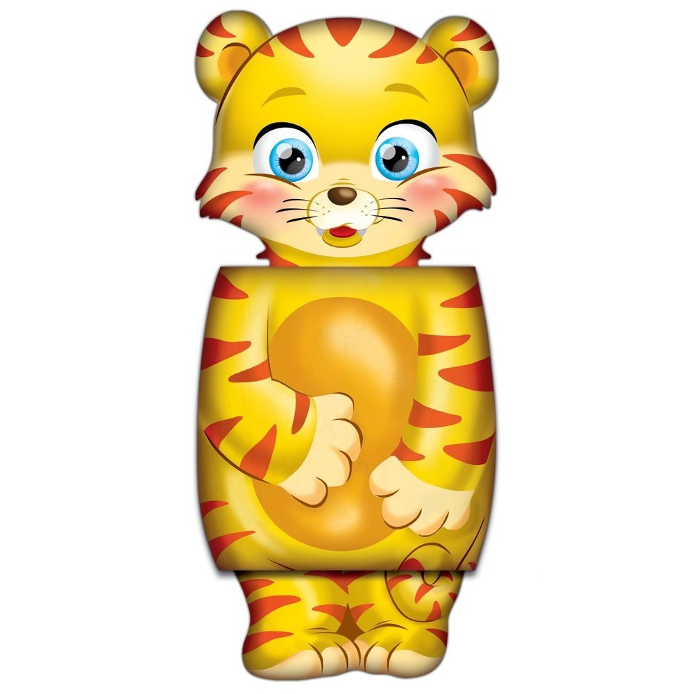 Tiruli, o Tigre - Meu Livro Mascote