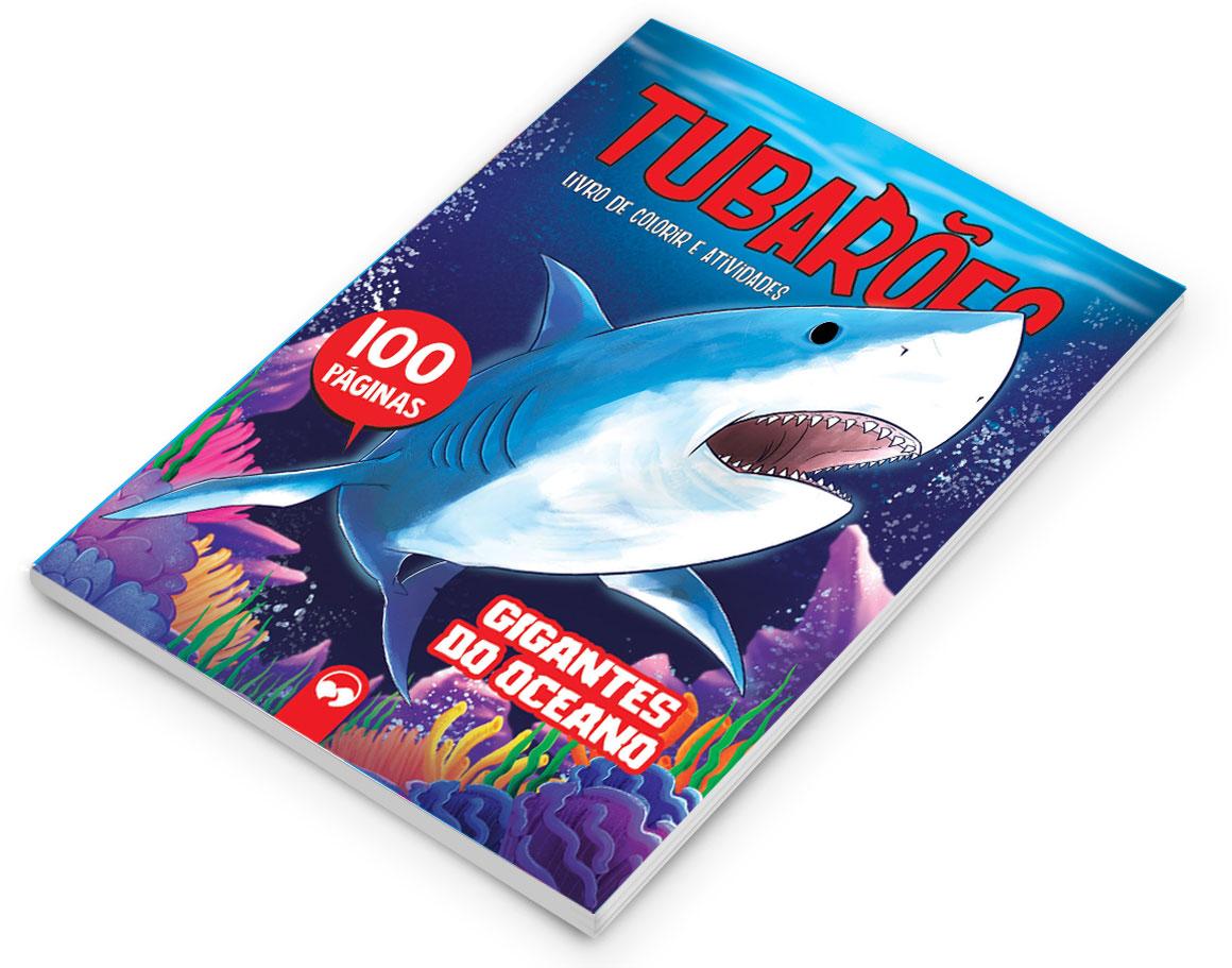 Tubarões: Gigantes do Oceano - 100 Páginas