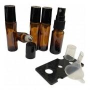10 Rollon 10ml Premium 5 Âmbar Spray 10ml 1 Funil 1 Abridor