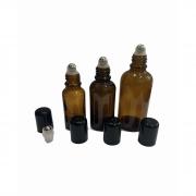 10 Frasco vidro âmbar Rollon de 5ml, 10ml, 20ml, 30ml e 50ml