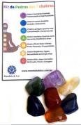 Kit de Pedras dos Chakras - 7 unidades