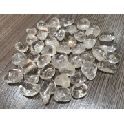 Pedras quartzo transparente PP  (peso total 25g)