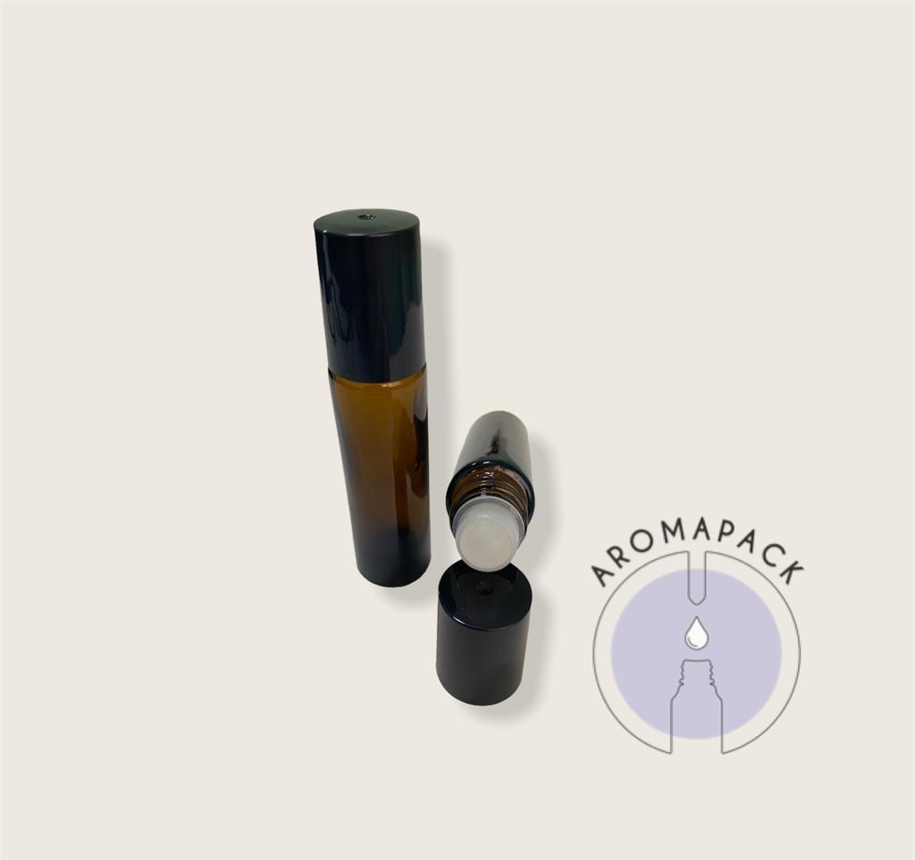 Kit com 10 Brilho labial (Rollon) 10ml com esfera plástica