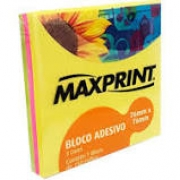 Bloco Adesivo Maxprint 150 Folhas
