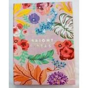 Bloco de Ideias Floral