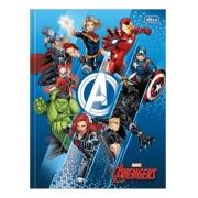 Caderno Brochura Universitário Capa Dura Avengers- 48