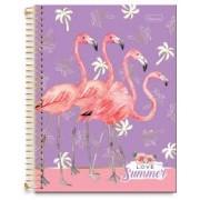 Caderno Flamingo 01 Mat