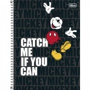 Caderno Mickey Light Universitário 10 Matérias- TILIBRA