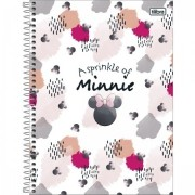 Caderno Minnie Light Universitário 10 Matérias- TILIBRA