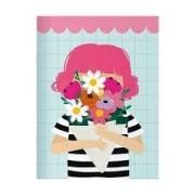Caderno Pontado Happy Buque