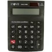 Calculadora Eletrônica Inova 12 Dígitos - PRETO