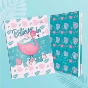 Pasta Catálogo C/ 50 Envelopes Trendy Flamingo - Dac