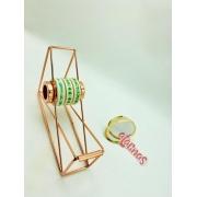 Porta Fita E Washi Tape- Rose Gold