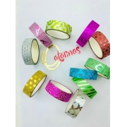WASHI TAPE  GLITTER FORMS