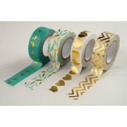 Washi Tape Metalizada 15mmx10m