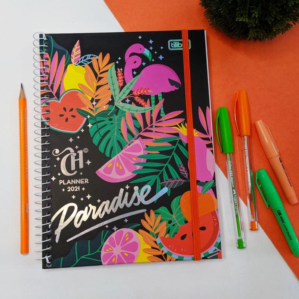 Agenda Planner Tilibra Capricho Paradise 2021