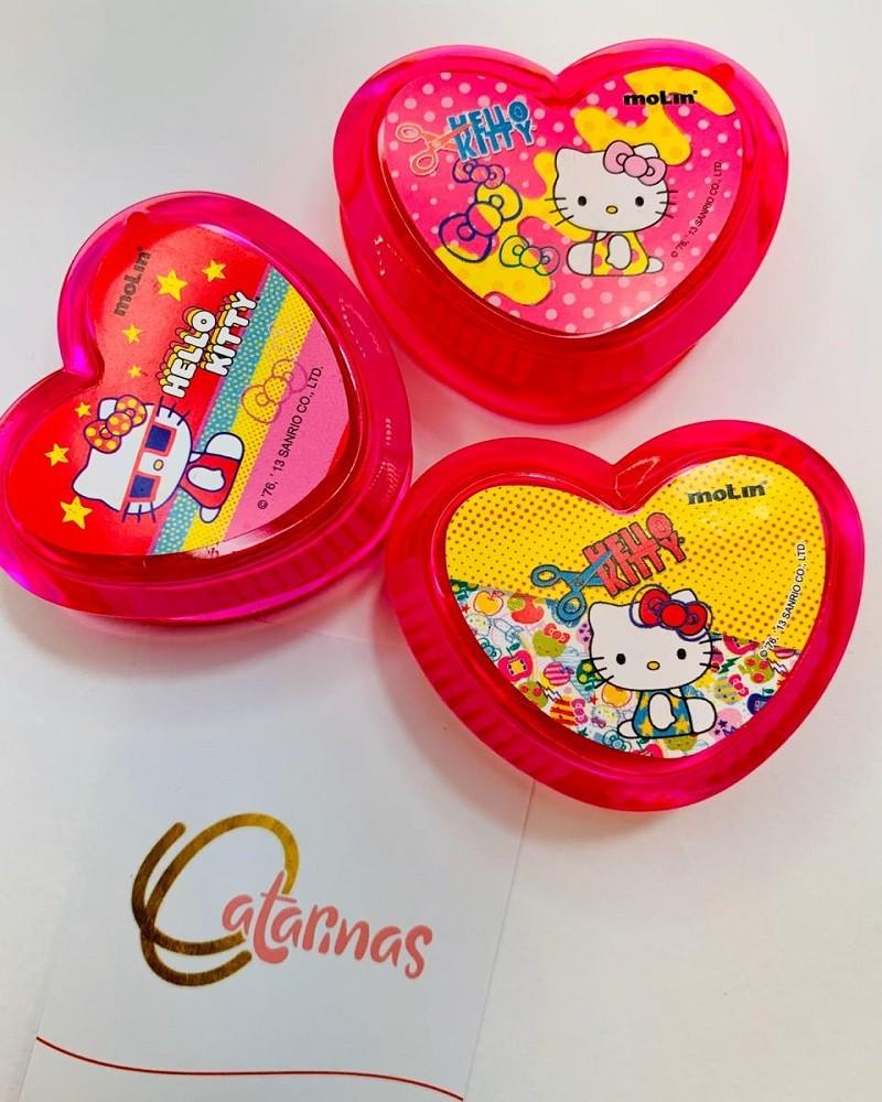 Apontador Hello Kitty pink