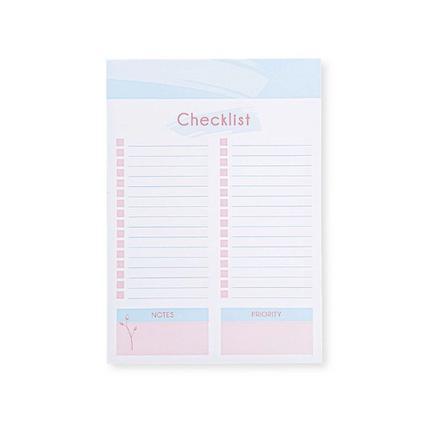 Bloco Check List La Bella