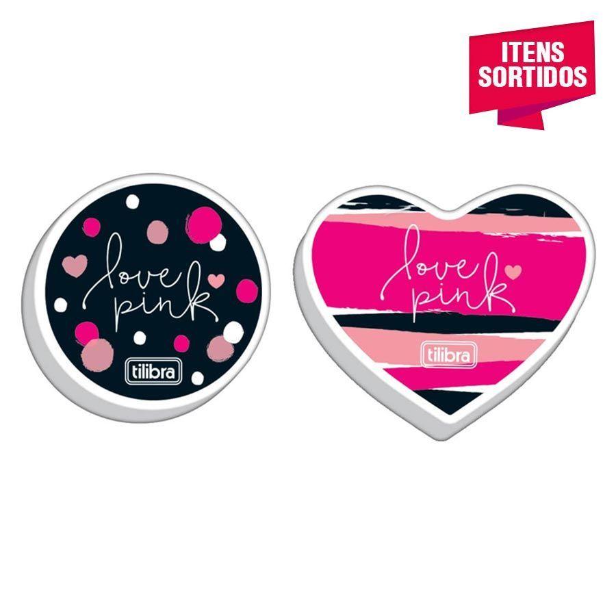 Borracha Tilibra Love Pink
