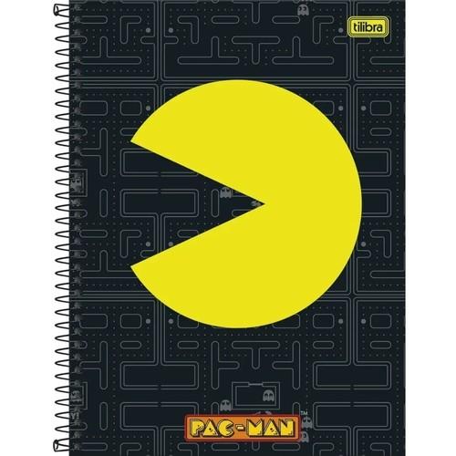 Caderno 1 Materia Pac Man Tilibra